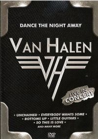 Cover Van Halen - Dance The Night Away - Live In Concert [DVD]
